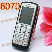 Восстановленный Мобильный телефон Nokia 6070 разблокирован 2G GSM сотовый телефон камера русский язык