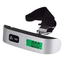 110lb/50 кг весы для багажа электронный цифровой портативный чемодан дорожные весы весит багажная сумка Висячие весы баланс веса с ЖК-дисплеем