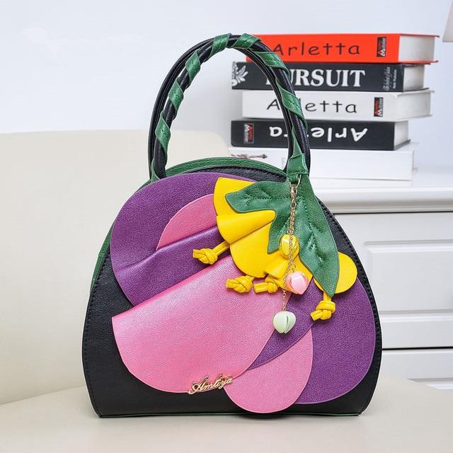 2016 Time-limited Special Offer Different Generation Trendy Flower Bag Shoulder Diagonal Cross Handbag Personality Sen Female