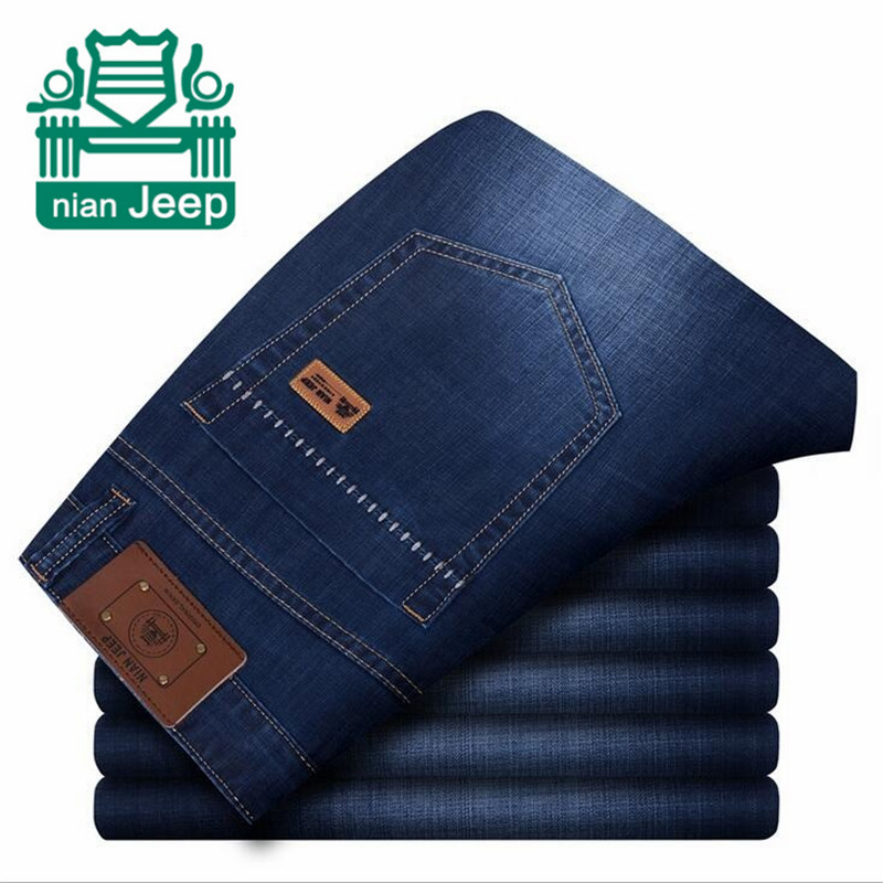 NIAN AFS JEEP Classic top designer famous brand straight men jeans fashion Europe and America style robin denim jeans man new afs jeep brand autumn and winter man jeans men pants straight cotton male denim brand jeans more pocket overalls