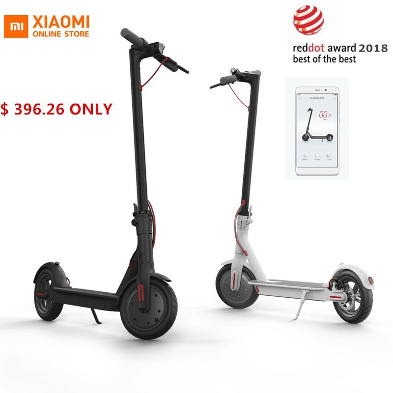 Original Xiao mi mi jia M365 Smart Elektrische Roller faltbare mi leichte lange bord hoverboard skateboard 30 km mi leage mit APP