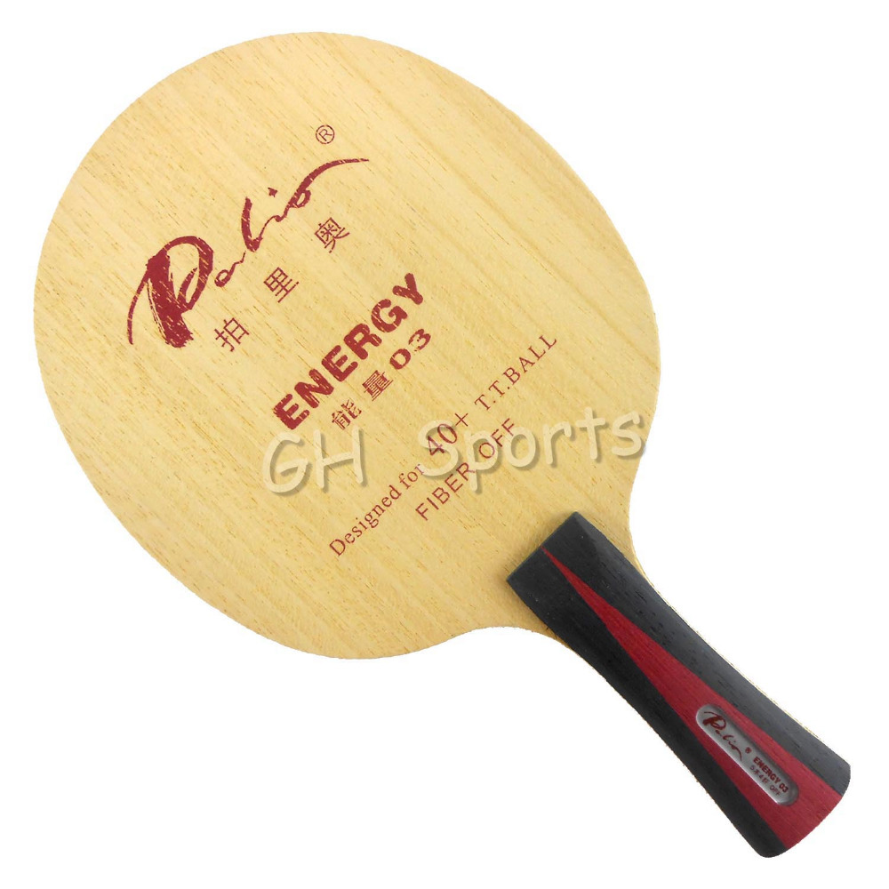 Palio ENERGY03 ENERGY 03 ENERGY-03 5Wood+4Fiber Table Tennis Blade For PingPong Racket