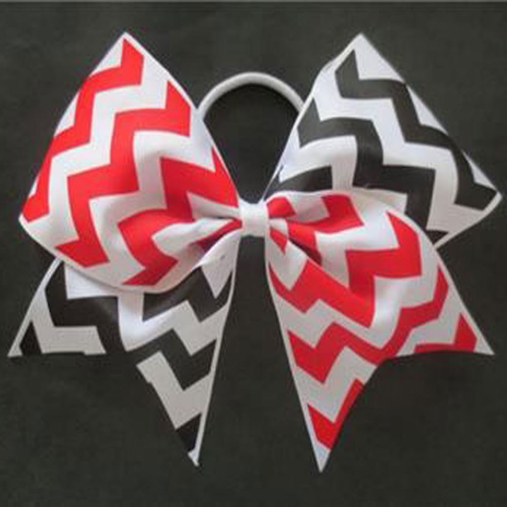 """50 BLESSING Good Girl Hair Accessories 7/"""" Cheer Leader Bow Elastic 83 No."""