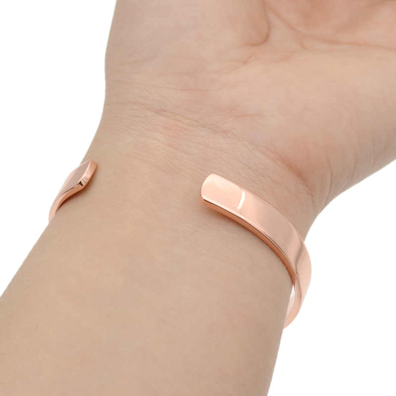 a731051d299 ... fashion lychee Magnetic Copper Bangle Bracelet Healing Bio Therapy  Arthritis Pain Relief Cuff Bangle Women Men