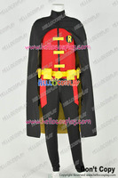 Young Justice Cosplay Robin Uniform Costume Stretchable Cotton Version H008