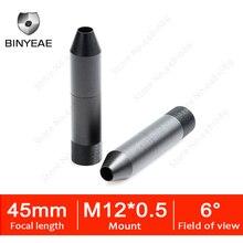 BINYEAE 3,0 мегапиксельная HD камера видеонаблюдения 45 мм винт для объектива для видеонаблюдения Камера IP Камера 45 мм M12 * 0,5 крепление видимость на расстоянии