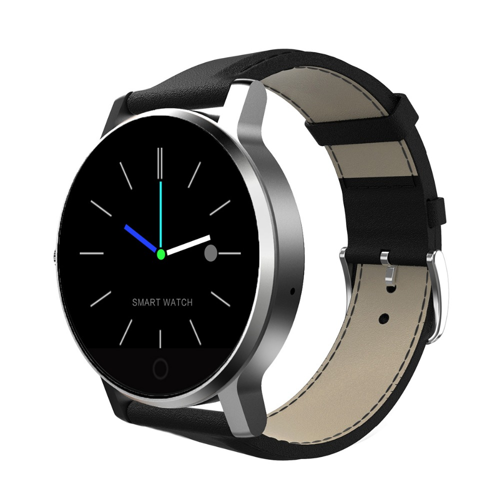 K88h bluetooth smart наручные часы пульс трек наручные часы из нержавеющей стали браслет.