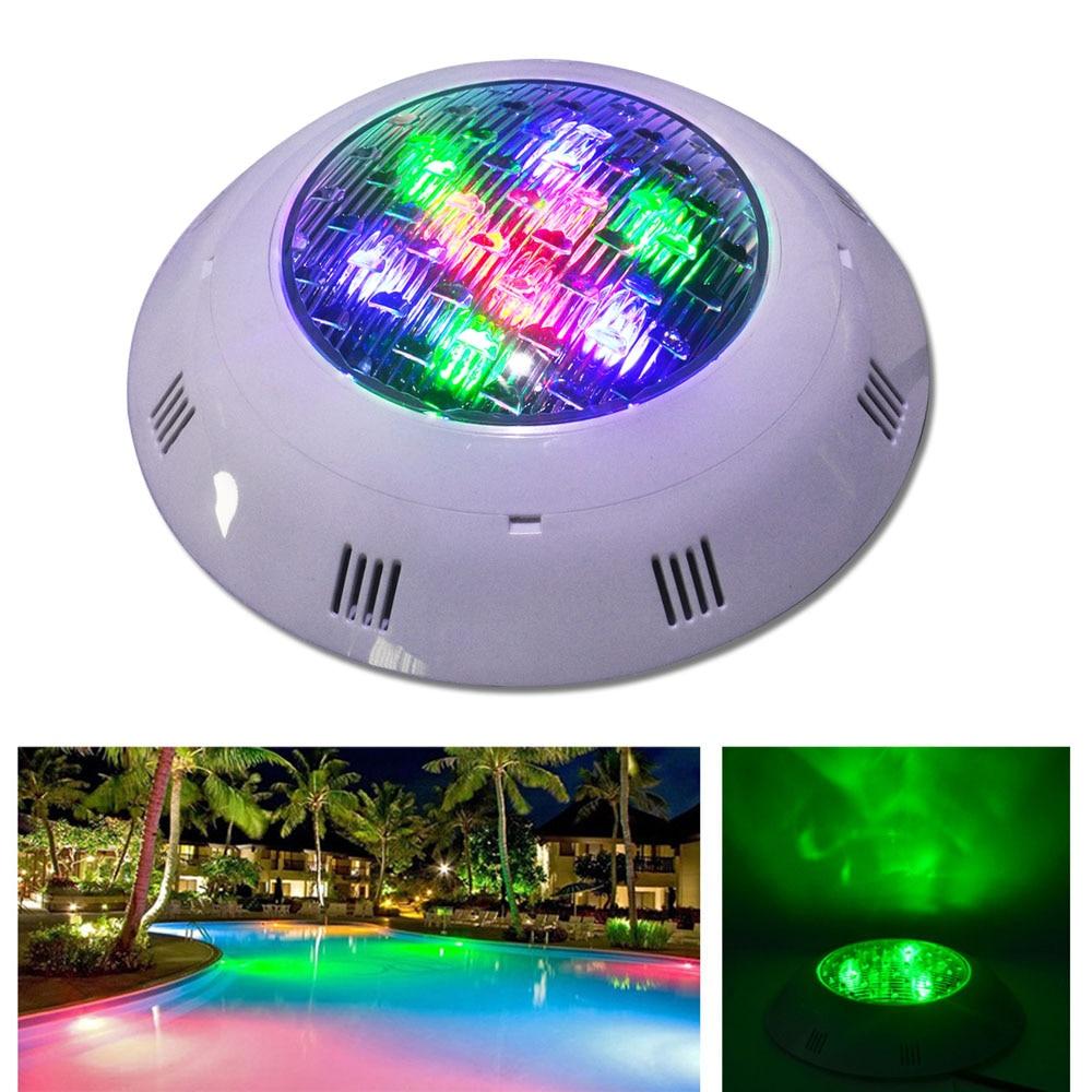 ФОТО Jiawen 9W 12W DMX512 RGB Swimming LED Pool Lights Underwater Lamp Outdoor Lighting Pond lights led piscina Lamp DC 24V