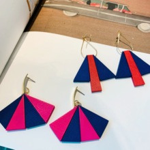 Neatear 2019 Fashion Trendy Irregular wood New simple women earrings Instagram Internet celebrity