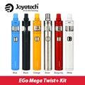 Original joyetech ego giro giro mega kit 30 w ego mega + batería cubis pro tanque atomizador 4 ml 2300 mah vw/bypass modos