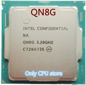 Image 1 - QN8G i7 8700K ES CPU INTEL 6 core 12 threads 3.2Ghz,Support Z370 and other eight generation motherboards, do not pick the board