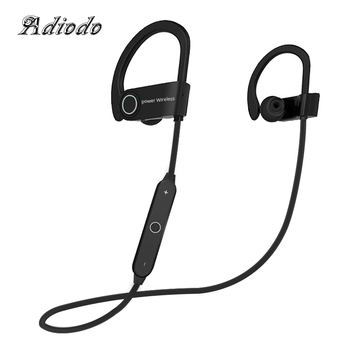 Wireless headphones Bluetooth Earphones Headset Music Stereo earbuds with Microphone earpiece sport earhook for phone xiaomi