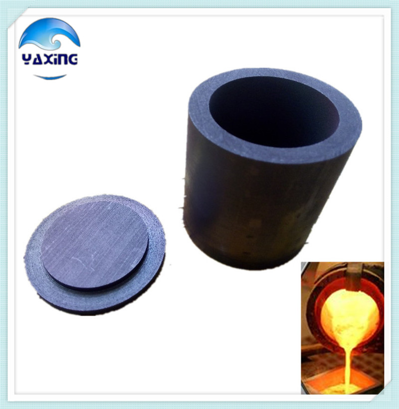 With cap Dia25x H25mm high purity graphite crucible used for Precious metals smelting special corrosive substances analysis hot sale high purity welding tungsten crucible 90 2mm 130 mm paypal is available