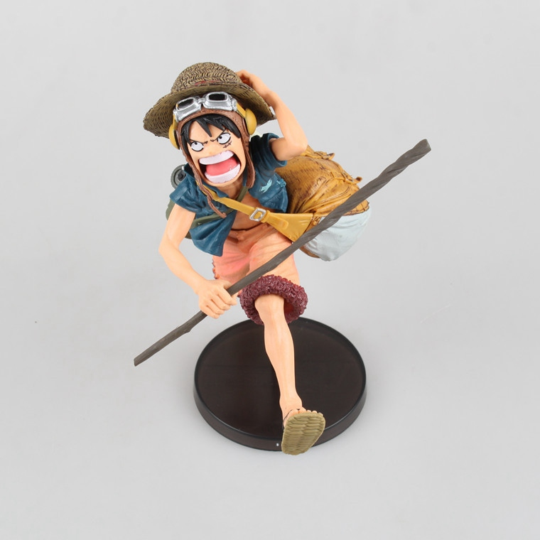 Us 15 34 45 Off 1 Pcs One Piece Monkey D Luffy Action Figure 21 Cm Anime Figure Running Kids Toys For Boys Kids Juguetes Original Box 2 Styles In