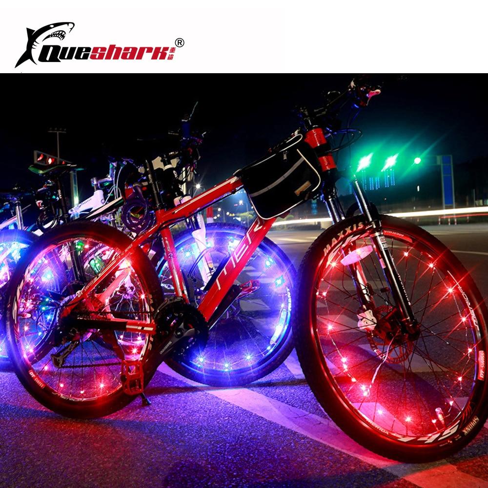 Accesorios para bicicletas led neumaticos bicicleta 14 luces led de bicicletas