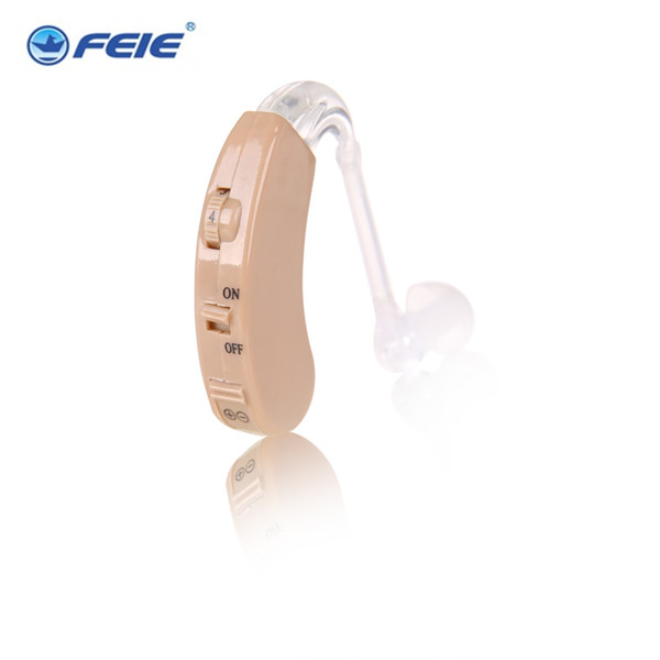 FEIE Analogue Ear Hook Hearing Aid Powerful BTE Enhancement Sound Amplifier Noise Reduction S-9C Drop Shipping feie mini rechargeable hearing aid usb charger computer ajustable tone ear listen device s 109s drop shipping