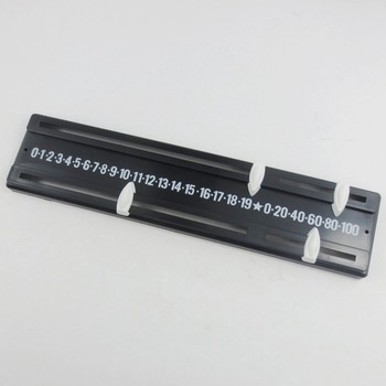 Mini Snooker Score board Scorer Pointers and Number Strip 260mm PP - discount item  7% OFF Entertainment