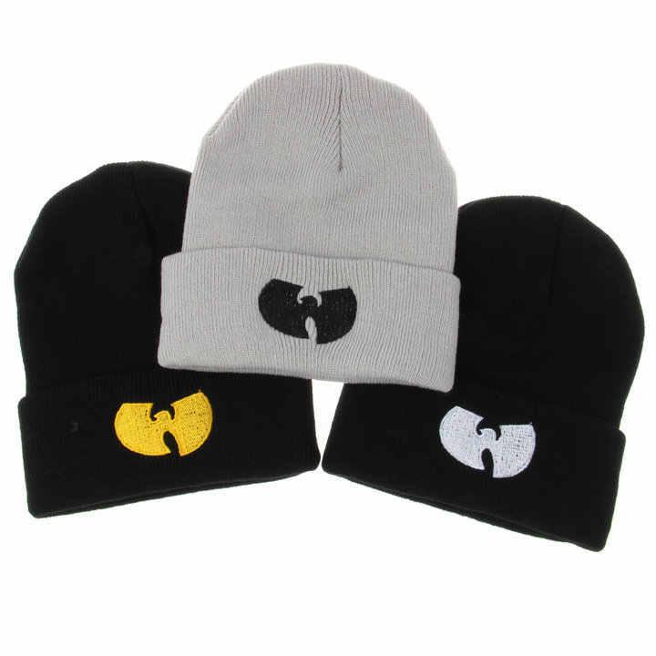 """3 цвета женская шапка с Wu Tang CLAN теплые зимние шапки для мужчин и женщин вязаная шапочка шерстяная шапка """"хип-хоп"""" Мужской Gorros De Lana"""