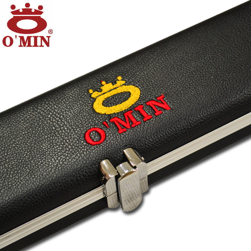 Omin High Grade 3/4 snooker billiard cue case wood 3/4 Rod box billiard accessories High quality billiards pool stick 3/4 cases omin snooker cue union the top level 145cm length 10mm cue tip ash wood 3 4 handmade billiard stick free shipping