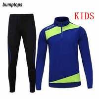 Soccer Shirts 2016 2017 Jerseys Suit Football Training Child Football Training Suit Football Jersey Kids Survetement