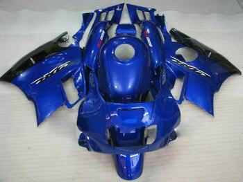 Motorcycle parts for HONDA CBR 600 F2 fairing kit 1991 1992 1993 1994 fairings Black blue CBR600 91 92 93 94-Nn
