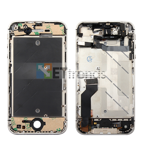 Metal Middle Plate Assembly for iPhone 4S - White  (1).jpg