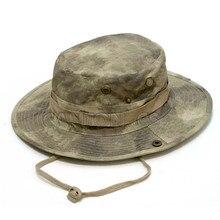 Тактическая страйкбольная снайперская камуфляжная шапка Boonie, летняя кепка для кемпинга, походов, Мужская круглая непальская шапка для рыбалки, армейская Кадетская Военная Кепка