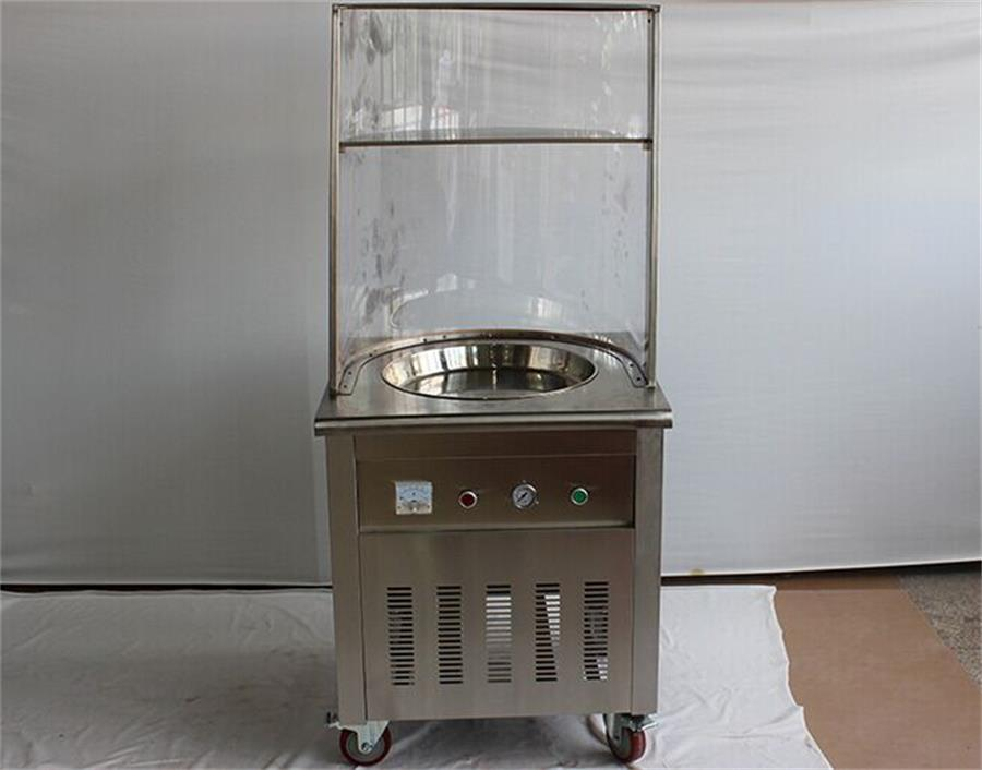 Temperature Ice Pan Frying Yogurt Machine/ Fried Ice Yogurt/ Thailand Instant Ice Cream Rolls Machine iodase staminal instant ice 150