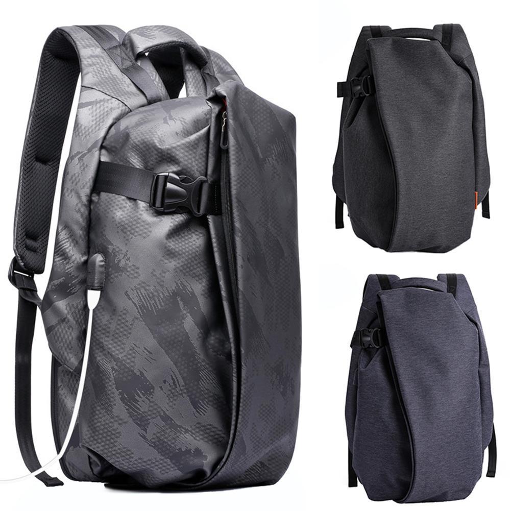 Mens Waterproof Large Capacity Backpack Anti-thief Laptop Bag with USB Port Mens Waterproof Large Capacity Backpack Anti-thief Laptop Bag with USB Port