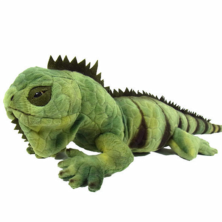 Green lizard cabrite plush toy simulation wildlife animal Wild Animals chameleon toys for children mr froger carcharodon megalodon model giant tooth shark sphyrna aquatic creatures wild animals zoo modeling plastic sea lift toy