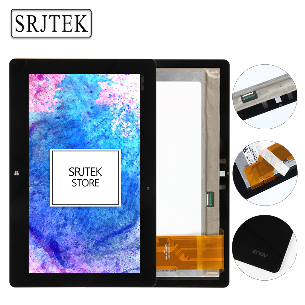 Srjtek For ASUS VivoTab RT TF600 TF600T Tablet PC Touch Screen Digitizer Glass Sensor+LCD Screen Display Assembly Parts original for asus zenpad 3s 10 z500m p027 z500kl p001 lcd display matrix touch screen digitizer sensor tablet pc parts assembly