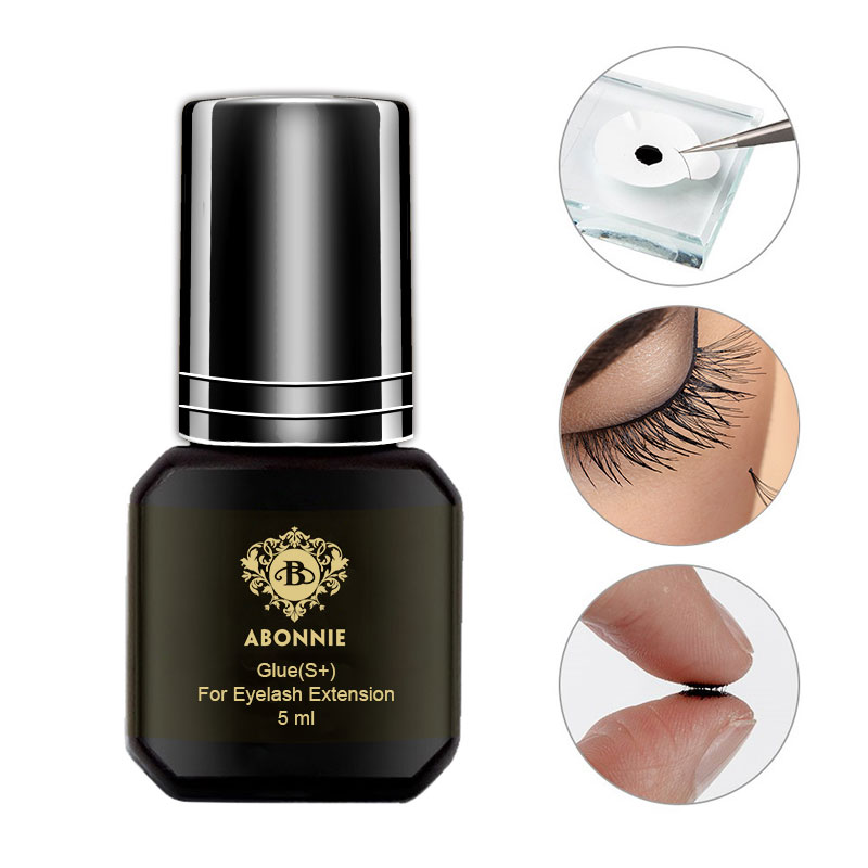5ml Eyelash Extension Glue 1-2s dry time Eyelashes Glue Pro Lash Glue Black Adhesive Retention 5-7weeks MSDS Adhesive5ml Eyelash Extension Glue 1-2s dry time Eyelashes Glue Pro Lash Glue Black Adhesive Retention 5-7weeks MSDS Adhesive