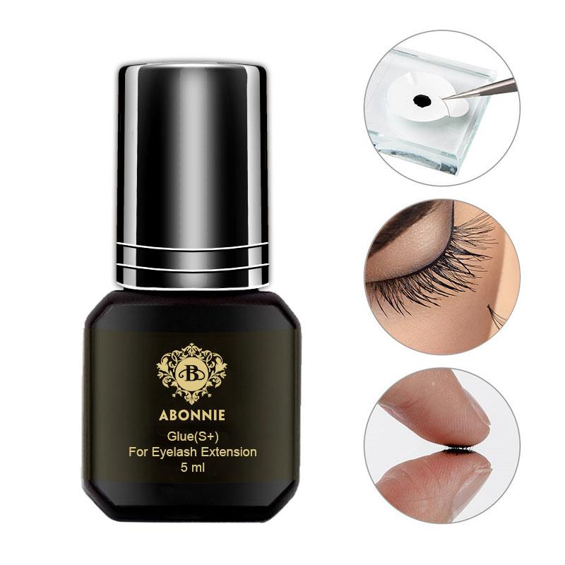 5ml Eyelash Extension Glue 1-2s Dry Time Eyelashes Glue Pro Lash Glue Black Adhesive Retention 5-7weeks MSDS Adhesive