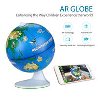 TOMLOV Smart 3D AR Globe Learning Education Toys Augmented Reality Toys Geographical Knowledge Adventure Educational For