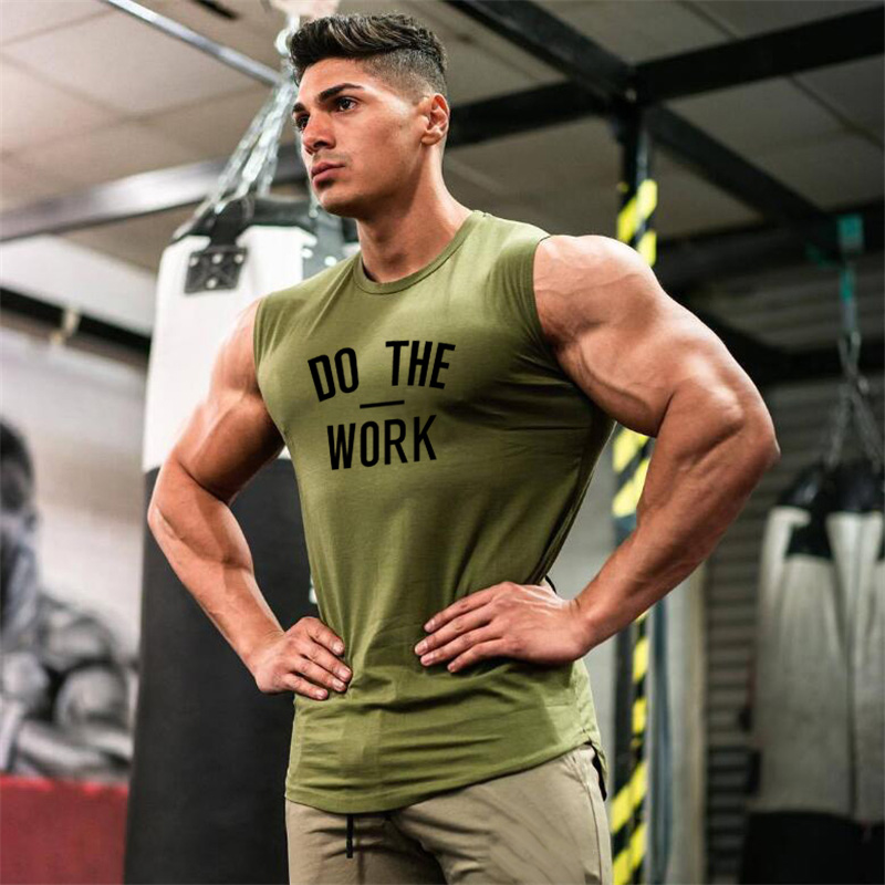 Muscleguy Brand Gyms Clothing Workout Sleeveless Shirt   Tank     Top   Men Bodybuilding Fitness Mens Sportwear Muscle Vests Men Tanktop