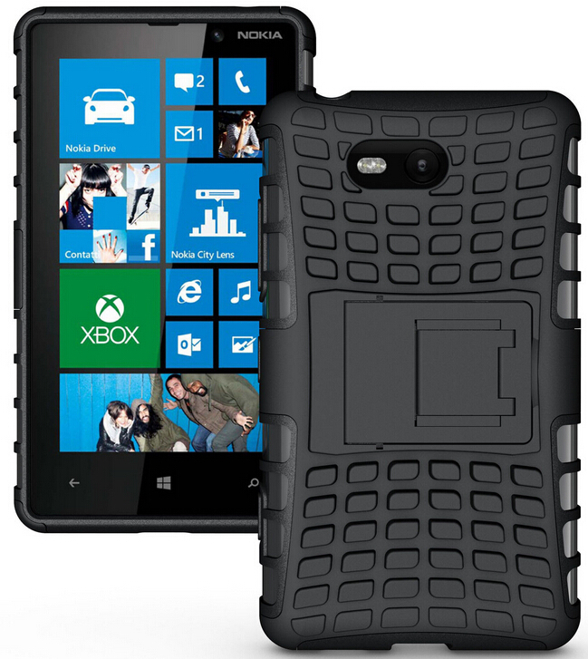 Rugged Armor Case For Nokia Lumia 830 930 Tpu Pc Dual Cover Protective Phone In Ed Cases From Cellphones