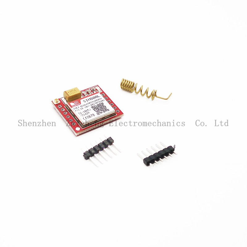 SIM800L GPRS Transfer Board Micro SIM GSM Core TTL Port Module for Arduino arduino atmega328p gboard 800 direct factory gsm gprs sim800 quad band development board 7v 23v with gsm gprs bt module