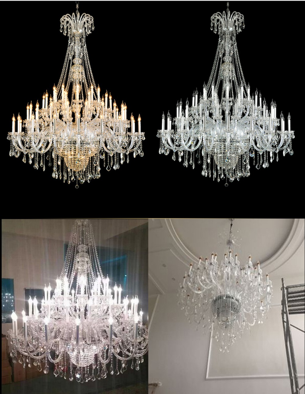 maria large crystal collection product pisa livorno chandelier facebook extra theresa light share