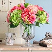 Classic Neoclassical Diamond tall Glass Vase Transparent Decoration Living Room Banquet Flower Arrangement Wedding Centerpiece