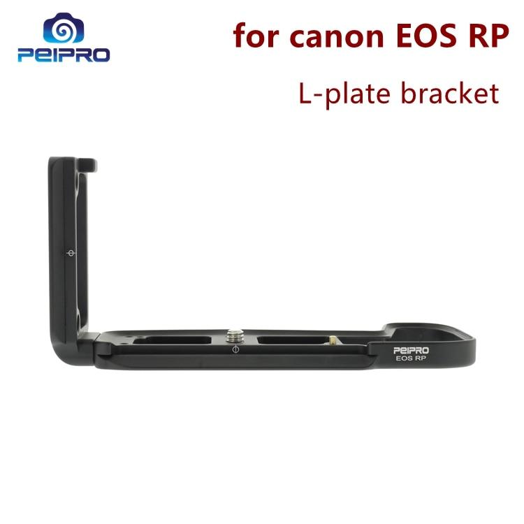 Peipro lotnictwa ze stopu aluminium szybkie uwolnienie do płytki w kształcie litery L uchwyt kamery ręki chwyta dla EOS RP kamery w Monopody od Elektronika użytkowa na  Grupa 1