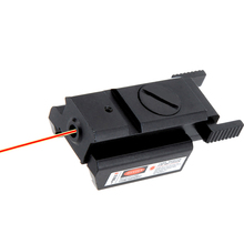 Red Dot Laser Sight Pistol Adjustable Red Laser Sight With Tail Switch Scope Tac