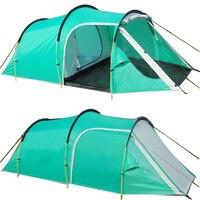палатка Открытый Палатки Семейный Праздник Путешествия Палатка 3 4 Человек Горы Палатка с Одной Спальней и Одной Гостиной Водонепроницаемы