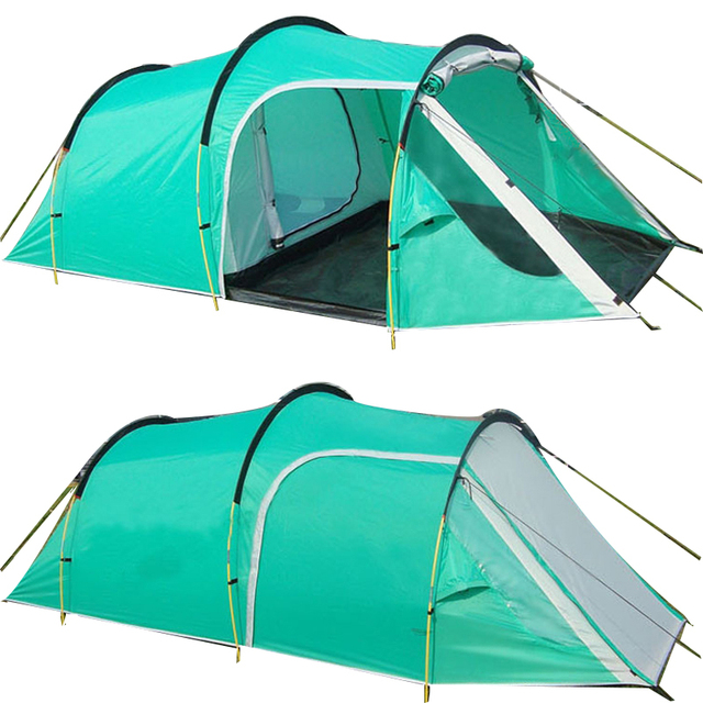 Awesome Outdoor Camping Tents Family Party Travelling Tent 3 4 Persons Mountain Tent  One Bedroom U0026