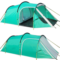 Outdoor Camping Tents Family Party Travelling Tent 3 4 Persons Mountain Tent One Bedroom & One Living Room Waterproof Event Tent