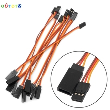 150mm 500mm Male to Female Servo Extension Wire Lead Cable For RC Futaba JR 10Pcs ThZ