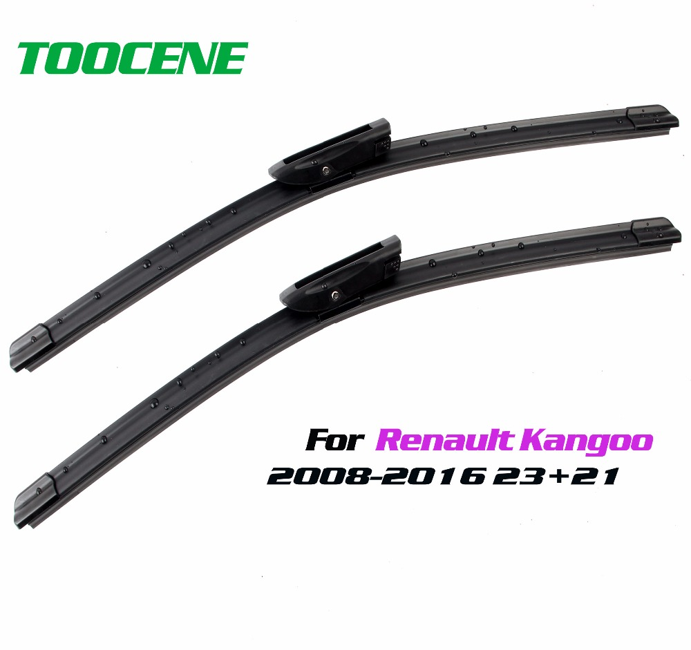 medium resolution of toocene windscreen wiper blades for renault kangoo 2008 2016 pair 24 22 car accessories auto front window windshield wipers in windscreen wipers from