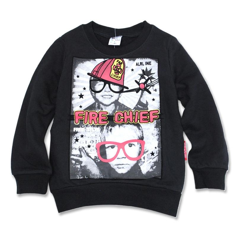 2894 childrens clothing cotton o-neck boys Hoodies kids boy Sweatshirts blue black