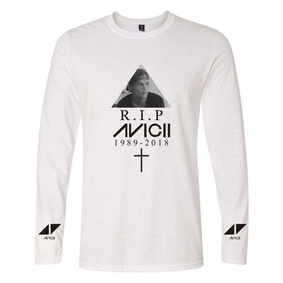 AVICII Summer Casual Men And Women Long Sleeve Tight Long