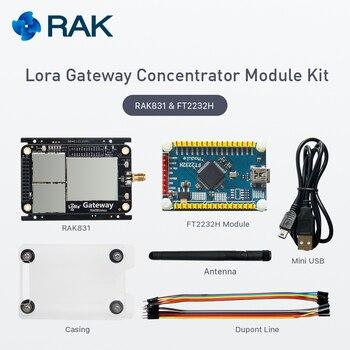 Lora Gateway Concentrator Module Kit, RAK831, base on SX1301, 433868915MHz, Wireless Spread Spectrum Transmission jc 20130709 1