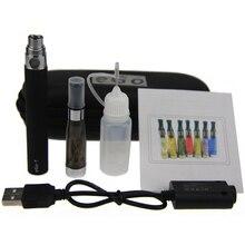 5pcs/lot ego ce4 kit Electronic cigarette ego T 650mah 900mah 1100mah battery ce4 atomizer with Zipper case e-cigarettes kit